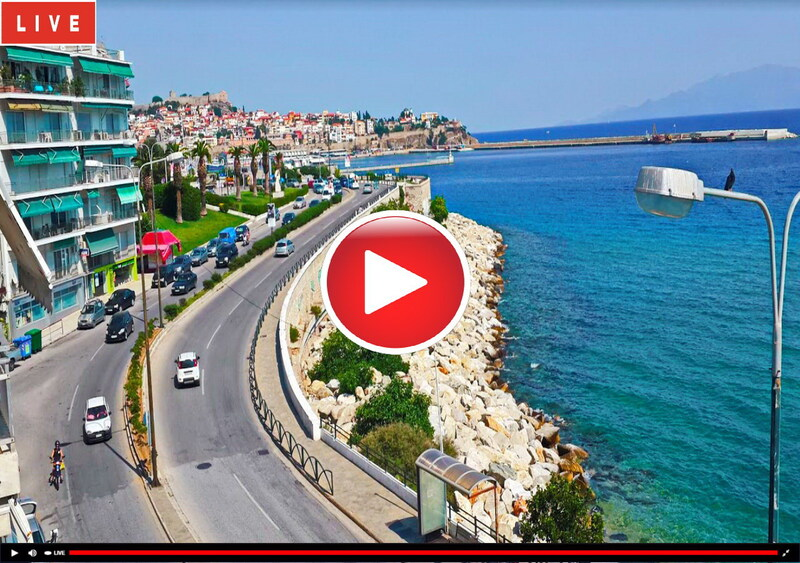Webcam KAVALA Seafront