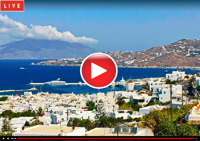 Webcam Mykonos Old port