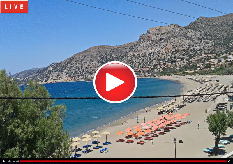 Webcam Palaiochora Beach, Crete