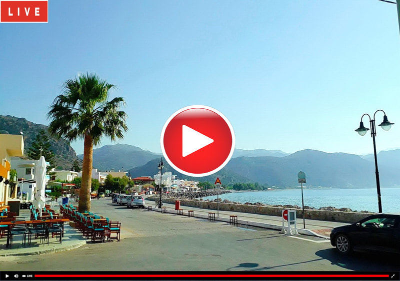Webcam Palaiochora Seafront